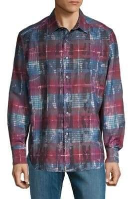 Robert Graham Outwash Plains Button-Down Shirt