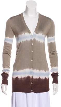Dolce & Gabbana Silk Dip-Dye Cardigan