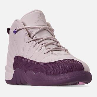 78d5d1599fcd43 Nike Girls  Little Kids  Air Jordan Retro 12 Basketball Shoes