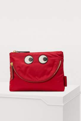 Anya Hindmarch Happy Eyes clutch