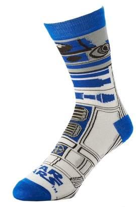Bioworld Star Wars R2D2 Mens Crew Socks