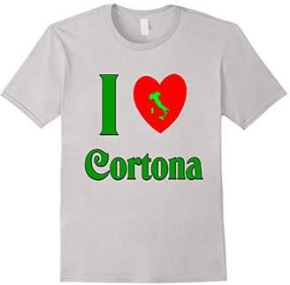 I love Cortona Italy t-shirt