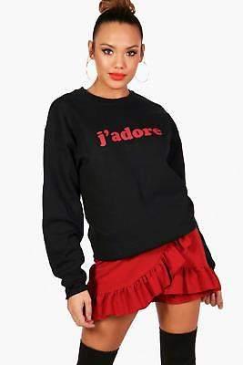 Mia J'Adore Sweatshirt mit Slogan