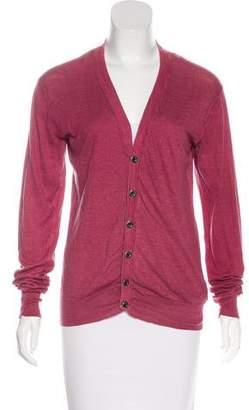 AllSaints Lightweight Button-Up Cardigan