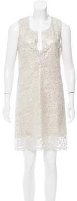 Nili Lotan Mini Lace Dress