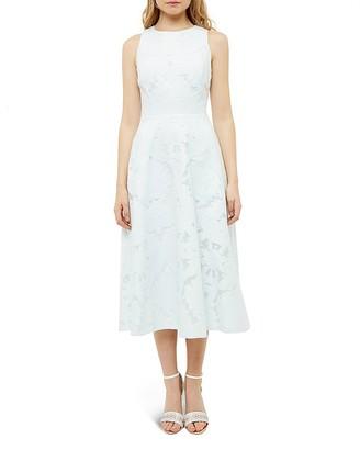 Ted Baker Burnout Midi Dress $465 thestylecure.com
