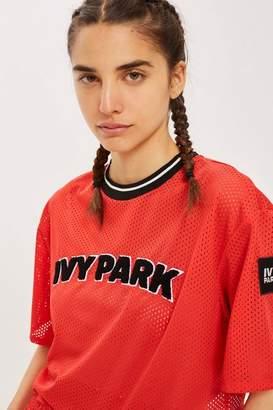 Ivy Park Airtex Cropped T-Shirt