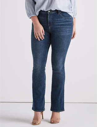 Lucky Brand Plus Size Emma Boot Cut Jean In Plata