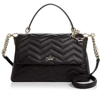 Kate Spade Reese Park Ivory Medium Leather Shoulder Bag