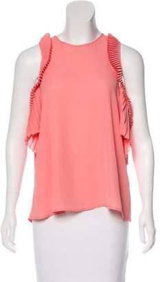 Everly Delfi Collective Pleated Top