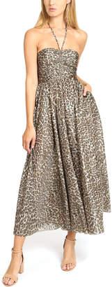 Zimmermann Suraya Ruched Long Dress
