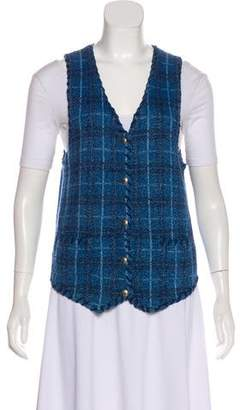 Lauren Ralph Lauren Plaid Knit Vest