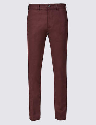 M&S CollectionMarks and Spencer Straight Fit Pure Cotton Chinos