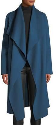 Lafayette 148 New York Monico Draped Cashmere Coat