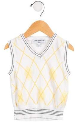 Simonetta Kids Boys' Argyle Sweater Vest