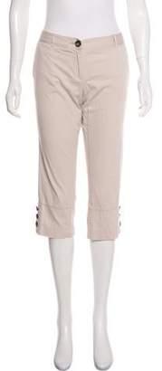 Burberry Low-Rise Crop Pants