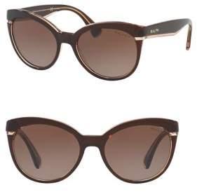 Ralph Lauren Ralph By Eyewear 55MM Cat-Eye Sunglasses