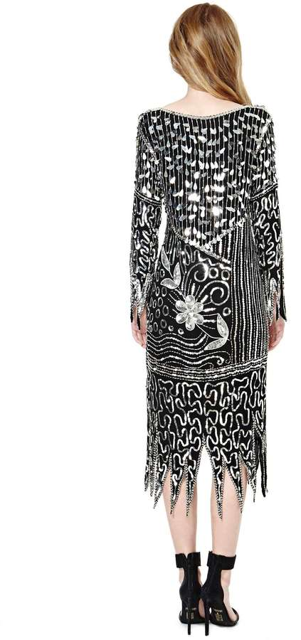 Nasty Gal Chasing Disco Sequin Dress