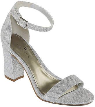 529adb5787b6 Free Shipping  99+ at JCPenney · WORTHINGTON Worthington Beckwith Womens Heeled  Sandals