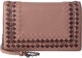 Bottega Veneta Medium Montebello Leather Shoulder Bag