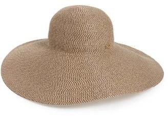Women's Eric Javits Floppy Straw Hat - Brown $350 thestylecure.com