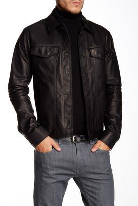 Helmut Lang Genuine Leather Jacket $1,425 thestylecure.com