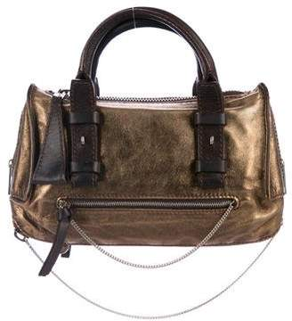 Chloé Metallic Leather Handle Bag