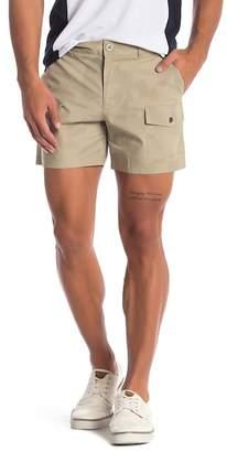 Parke & Ronen Camo Cargo Shorts