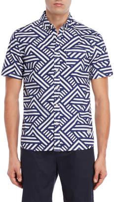 Penfield Elba Geometric Classic Fit Shirt