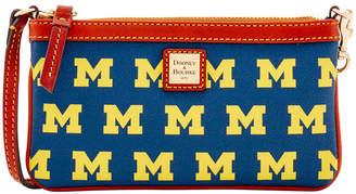 Dooney & Bourke Michigan Wolverines Large Wristlet
