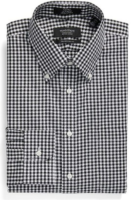 Men's Nordstrom Men's Shop Traditional Fit Non-Iron Gingham Dress Shirt $49.50 thestylecure.com