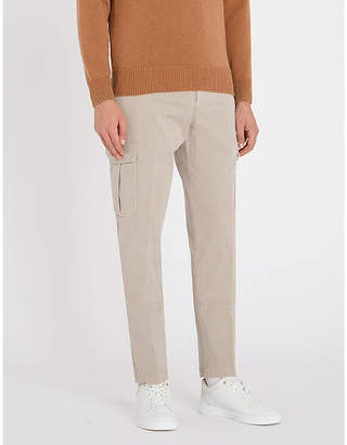 Eleventy Cargo regular-fit stretch-cotton trousers