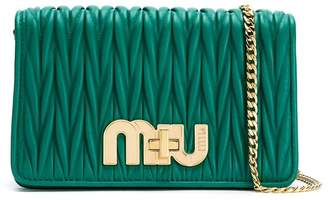 Miu Miu matelassé 2way bag