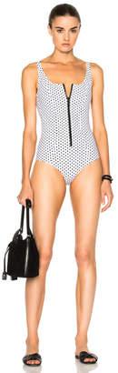 Lisa Marie Fernandez Jasmine Bonded Swimsuit