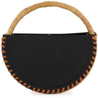 Wai Wai Alfaia Petite Leather Top Handle Bag