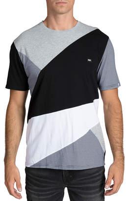 PRPS Men's Multi-Panel Colorblock T-Shirt