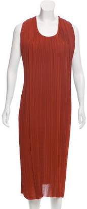 Bottega Veneta Belted Plissé Dress w/ Tags