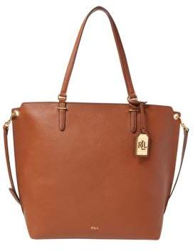 Lauren Ralph Lauren Abby Medium Faux-Leather Tote