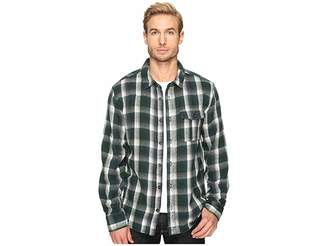 Alternative Yarn-Dye Flannel Logger Shirt Jacket Men's Coat