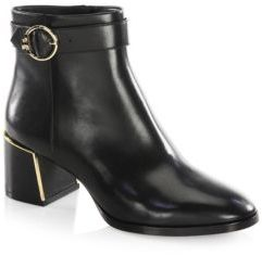 Tory Burch Sofia Leather Booties