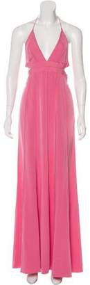 Narciso Rodriguez Maxi Halter Gown