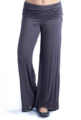 24/7 Comfort Apparel Solid Unisex Palazzo Pant
