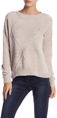 Romeo & Juliet Couture Long Sleeve Cable Knit Sweater