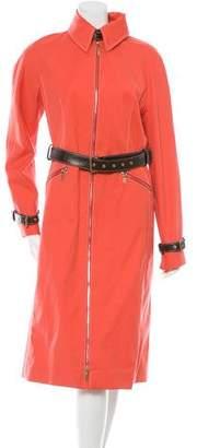 Celine Belted Trench Coat