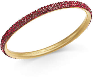 Kate Spade Gold-Tone Pave Bangle Bracelet