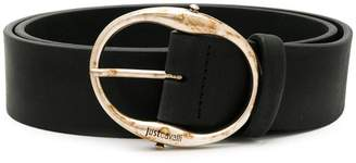 Just Cavalli tarnished buckle belt