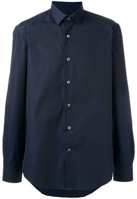Lanvin slim fit poplin shirt