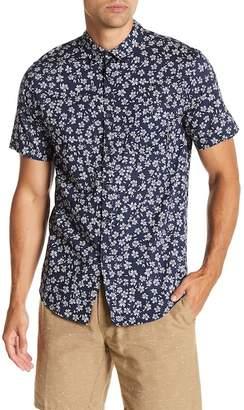 Billabong Sunday Floral Print Tailored Fit Woven Shirt
