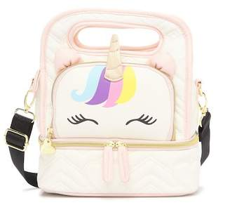 Betsey Johnson Unicorn Oval Lunch tote