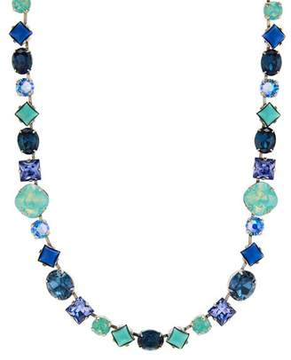 """Sorrelli Heather Faceted Necklace, 15"""""""